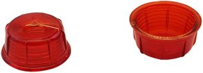 Positionslygteglas Britax rød