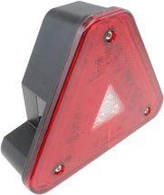 Baglygte LED Trekant M/Stik Aspöck Agripoint - M/LED Blink