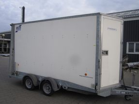 Ifor Williams BV126 7''  3500kg Nysynet.