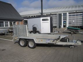 Ifor-Williams GH1054 Rampe Alubund