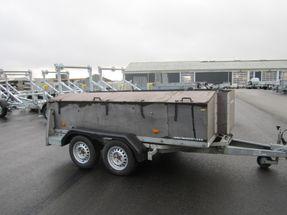 Humbaur ombygget kloak/rørtrailer SYNET