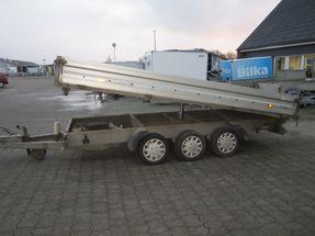 Humbaur HTK 3500,41-3 med presenning nysynet
