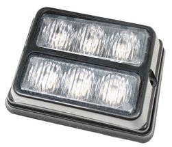 Blitzlygte LED 2X 3 dioder