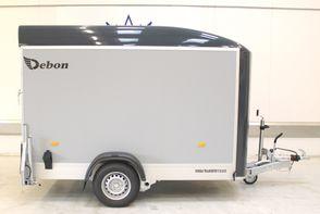 Debon Boxtrailer RC300 - Antrazith - ply: Lysegrå