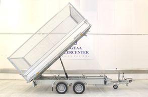 Humbaur HTK 3000.37 3-vejs - El-tip m/Gitter sider