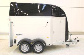 Humbaur Xanthos Aero 2400 - m/ EquiGuard bomsystem - Sort metal