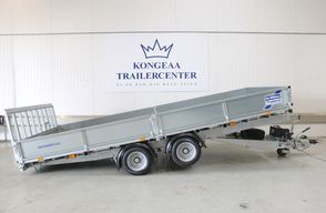 Ifor Williams CT167 - TB - Sider + Rampe - El tip