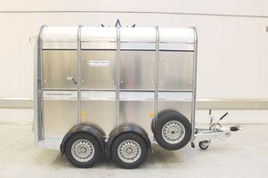Ifor Williams TA5 8x6 Enkeltdæk m/rampe 2700kg