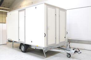 Kongeaa Inter spisevogn 6 pers m/bordplade- køleskab- toilet-