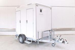 Kongeaa T240 - 2 x Toiletmobil m/kværntoilet