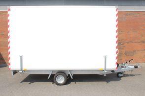 Kongeaa Inter Skurvogn Spisevogn Premium med indretning.