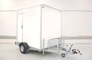Kongeaa T217 WD - Toilet-Badmobil med 2i1 vaskemaskine og tørretumbler