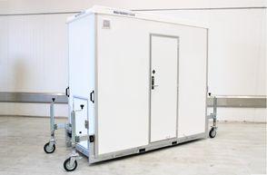 Kongeaa T295 - Mini badeværelse trolley m/ vandskyld Toilet med Kværn