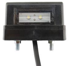 Nummerpladelys Fristom - Led M/ledning