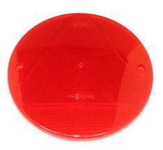 Refleks Rød rund Ø156mm