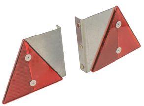Refleksplade sæt rød m/magneter