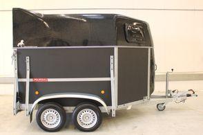 Schmidt Pony 3 - Sorttop - Svingbar rampe