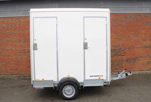 Scanvogn 240 - 2i1 m/toilet og kværn, hvid