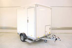Scanvogn BadMobil med Toilet og Vaskemaskine