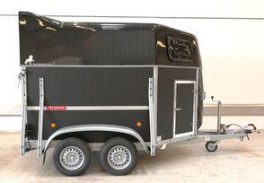 Schmidt Pony 3 - Hjul på siden-Sadelskab-SVing rampe -Sort top