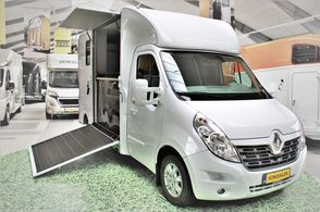 Sodiak Luxury Hestetransport 2,3 dCi 170 Renault Master III - Hvid