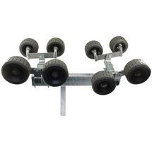 Superrulle m/8 ruller Brenderup