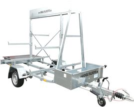 TEMARED Stillads trailer 1800 kg.