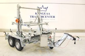 Kongeaa TTA 2091B - 3500kg m/ stativ til 6 - 9 tromler