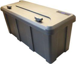 Værktøjskasse til trailer - Kongeaa model - Sideåbnet låg - 750 x 300 x 355