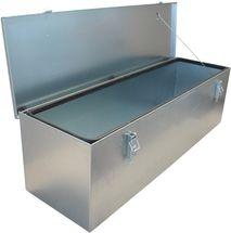 Værktøjskasse til trailer - Rustfri stål - 1220 x 458 x 457