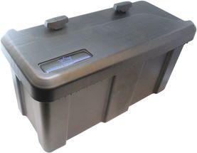 Værktøjskasse til trailer - Kongeaa model - Sideåbnet låg - 550 x 250 x294