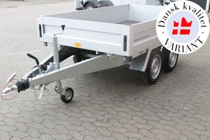 Variant 1306 B-13-ALU-1300 kg - Inkl. presennning og Kip Næsehjul