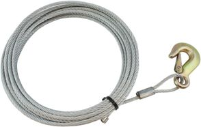 Wire f/spil 7 mm x 10 mtr