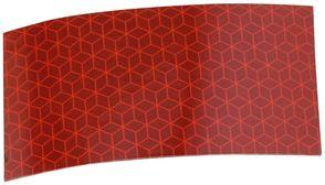 Rød refleks - pr. mtr. 55 mm